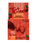 Tastees condoms, strawberry 3 pack