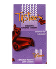 Tastees condoms, chocolate 3 pack