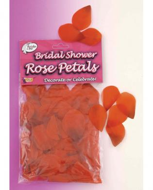Bride to be rose petals - red