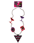 Divorced diva martini glass beads