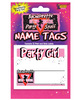 Bachelorette name tags