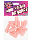 Bachelorette mini peenie erasers (12pc)