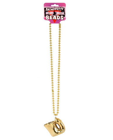 Bachelorette penis shotglass hanging beaded necklace Sex Toy Product
