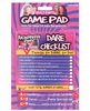 Bachelorette party outta control dare checklist game