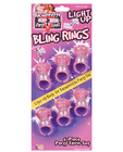 Bachelorette party outta control light up bling rings