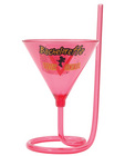 Bachelorette party outta control martini glass w/straw Sex Toy Product