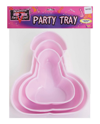 Bachelorette penis party trays