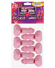 Bachelorette pecker whistles
