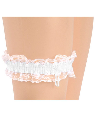 Bridal garter white garter Sex Toy Product
