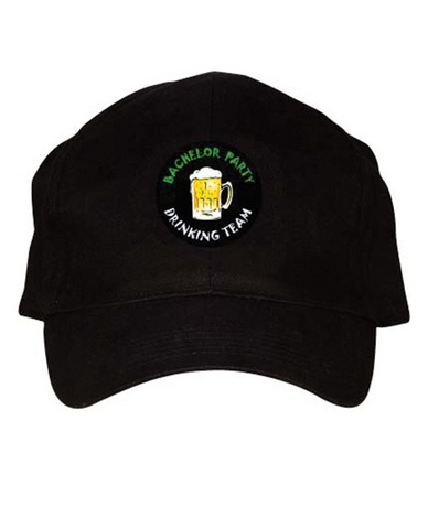 Light-up bachelor party drinking team cap