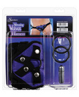 Sportsheets vibrating harness purple velvet