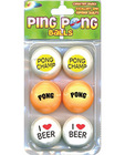 Ping pong balls for beer pong