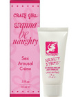 Crazy girl nympho creme with libido enhancers - .5 oz