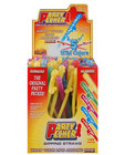 Party pecker straws, assorted colors display (144)