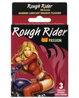 Rough rider studded hot passion condom - pack of 3