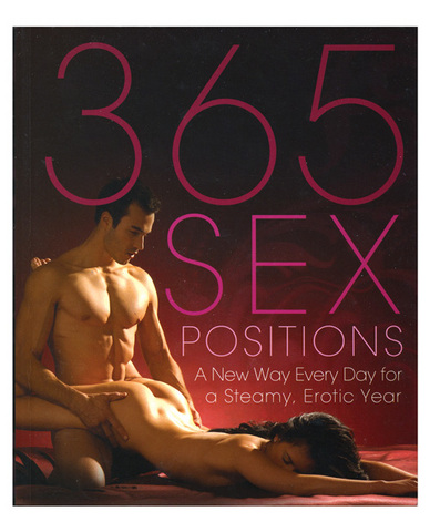 Kizarma : The new 365 sex positions book