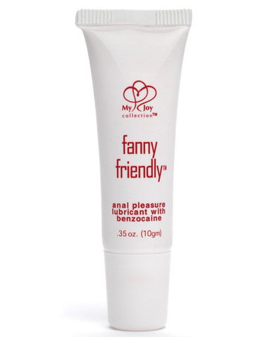 Fanny Friendly Anal Pleasure Lubricant With Benzocaine .35 oz - Strawberry