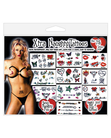 Xtra naughty tattoos - over 75 tattoos Sex Toy Product