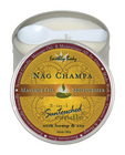 Suntouch hemp candle nag champa 6 oz round tin