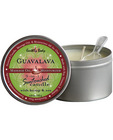 Suntouched hemp candle - 6 oz round tin guavalava
