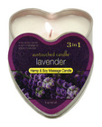 Heart tin suntouched hemp candle-lavender 4oz