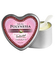 Suntouched hemp candle - 4 oz heart tin polynesia