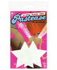 Pastease, glow in the dark star o/s