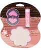Fashion style trio - 36 fix-it strips, 1 clear and 1 black concealer clip and 6 nipple petals