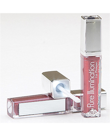 Pure illumination lip plumper w/light up applicator - .30 oz pink silk
