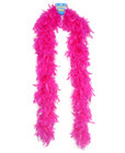 Feather boa 72in - hot pink