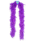Feather boa 72in - purple