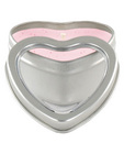 Mini heart pheromone candle lavender/vanilla