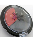 Xotic eyes - creme shadow eye pallet black, red and gray