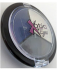 Xotic eyes - creme shadow eye pallet navy blue, gray and white
