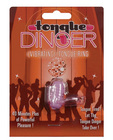 Tongue Dinger Vibrating Tongue Ring-purple
