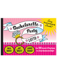 Bachelorette party lotto scratch and play game