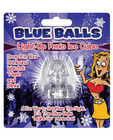 Blue balls light up penis ice cube