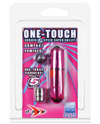 One touch 5 speed bullet w/ cord pink