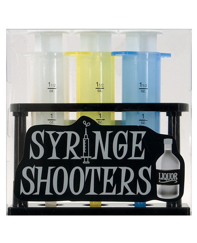 Syringe shooters