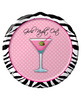 Girls night out martini 7in plate - pack of 8
