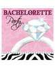 Bachelorette party diamond 3 ply napkin - pack of 16