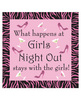 Girls night out cocktail napkin party game - pack of 24