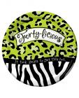 Forty-licious 7in luncheon plates - pack of 8