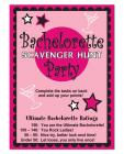 Bachelorette scavenger hunt game Sex Toy Product