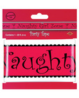 Bachelorette fun naughty girl zone party tape Sex Toy Product