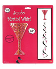 Bachelorette fun jumbo martini whirl