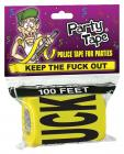 Keep the f*ck out party tape Sex Toy Product