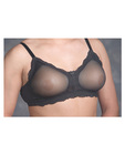 Transform see-through bra - black 34c