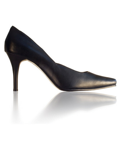Le dame shoes sharon 4in pump black fourteen
