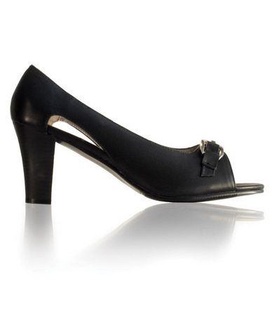 Sophie Open Toe Pump